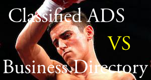 Classified ADS VS Business Directory