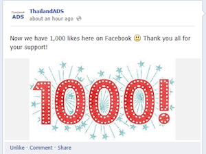 Thailand ADS Social Media is growing