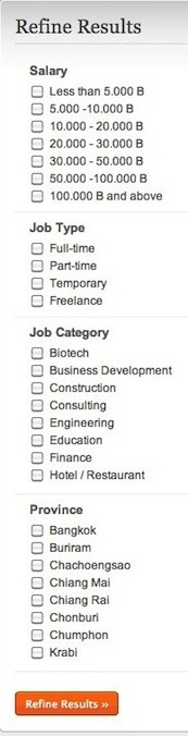 Find Jobs form