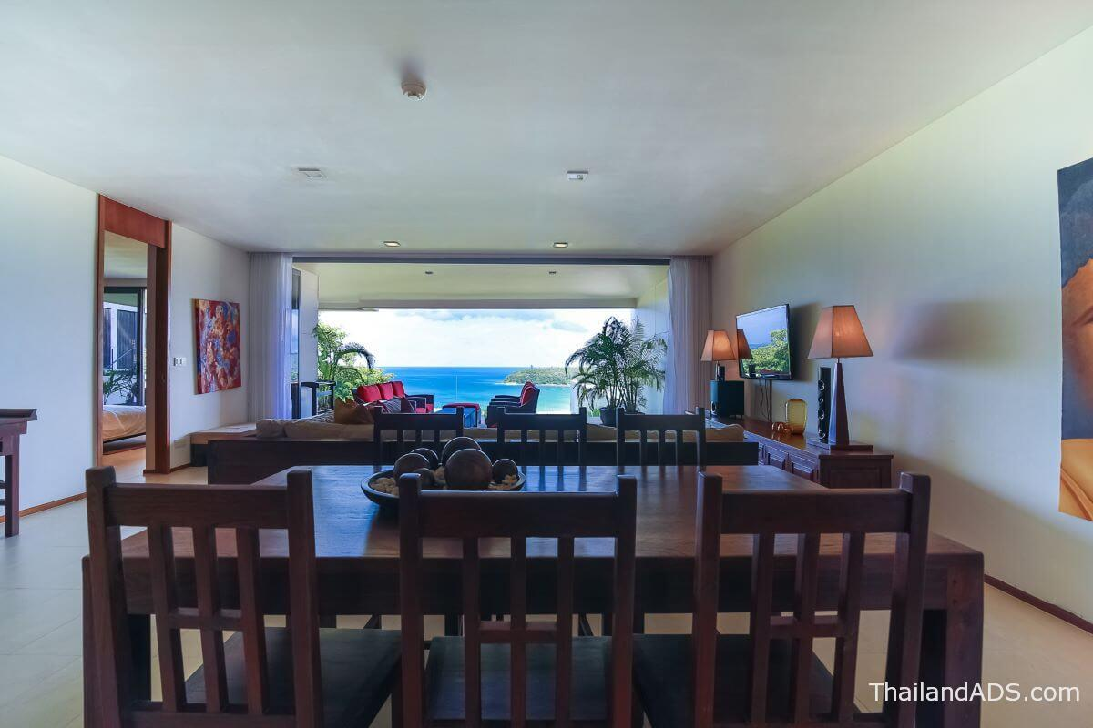 2_bedroom_seaview_condo_for_sale_the_heights_kata_phuket_dining_living_terrace2